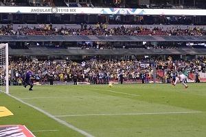 AMERICA le gana al SANTOS y se coloca como Sublíder en la ultima jornada del torneo regular penal cobrado por el america