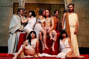 Antonio y Cleopatra de William Shakespeare dirijida por Gutemberg Brito Patatiba interpretada por la compañia Corazón Compañía Creativa 10