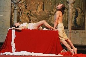 Antonio y Cleopatra de William Shakespeare dirijida por Gutemberg Brito Patatiba interpretada por la compañia Corazón Compañía Creativa 5