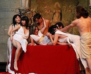 Antonio y Cleopatra de William Shakespeare dirijida por Gutemberg Brito Patatiba interpretada por la compañia Corazón Compañía Creativa 7