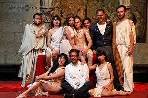 Antonio y Cleopatra de William Shakespeare dirijida por Gutemberg Brito Patatiba interpretada por la compañia Corazón Compañía Creativa o