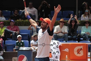 Campeón de singles del CDMX Open 2018 Juan Ignacio Londero 1