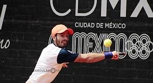 Campeón de singles del CDMX Open 2018 Juan Ignacio Londero 2
