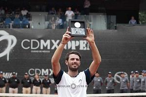Campeón de singles del CDMX Open 2018 Juan Ignacio Londero