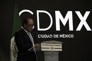 Embajador de China en México Qiu Xiaoqui en la Inauguración de la FICA 2018