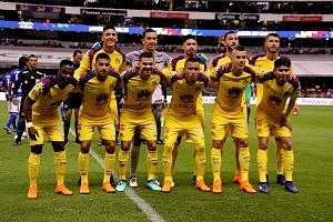 Equipo titular del America en la Jornda 13 del torneo Clausura 2018
