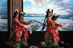 Inauguración de la FICA 2018 presntación de Danza del Tibet