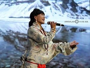 Inauguración de la FICA 2018 presntación de musica del Tibet