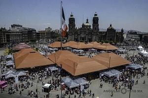 Inauguración de la Feria Internacional de las Culturas Amigas 2018, decimo aniversario.