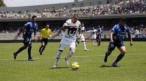 Nicolas Castillo delantero de Pumas en la victoria Frente al Puebla en la jornada 15 i