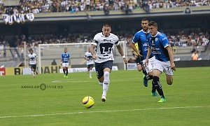 Nicolas Castillo en jugada dividida frente al Queretaro en la ultima jornada del clausura 2018 3