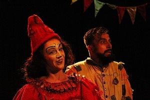 Puesta en escena Lacuna, el circo de todos AB