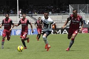 Pumas empató a un gol con Necaxa descolgada de Pablo Barrera delantero universitario