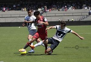 Pumas empató a un gol con Necaxa descolgada del delantero de Necaxa Victor Davila DC
