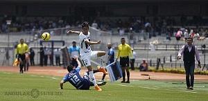 Pumas vino de atrás y derrotó 4-2 a Puebla en la jornada 15