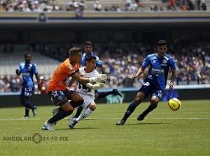 Pumas vino de atrás y derrotó 4-2 a Puebla en la jornada 15 j