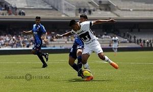 Pumas vino de atrás y derrotó 4-2 a Puebla en la jornada 15 l