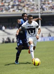 Pumas vino de atrás y derrotó 4-2 a Puebla en la jornada 15 m