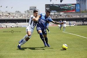 Pumas vino de atrás y derrotó 4-2 a Puebla en la jornada 15 y