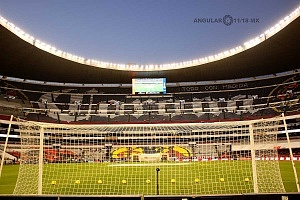 estadio azteca toma panoramica jornada 15 America vs Monterrey