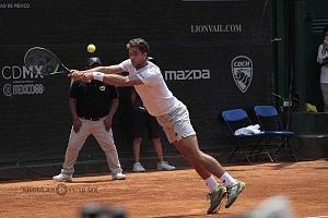 final de singles del CDMX Open 2018 jugador Roberto Quiroz 1