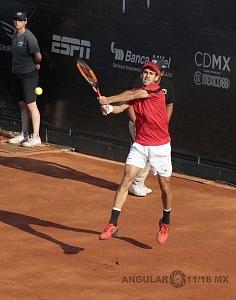 jornada del viernes CDMX Open Jugador Adrian Menendez Maceiras perdio en cuartos de final