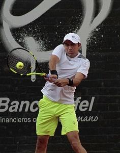 jornada del viernes CDMX Open Jugador Hans Hach Verdugo perdio en cuartos de final 1