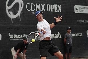 jornada del viernes CDMX Open Jugador Jan Choinski en los cuartos de final