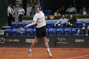 jornada del viernes CDMX Open Jugador Jan Choinski perdio en cuartos de final rm