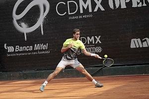 jornada del viernes CDMX Open Jugador Roberto Quiroz de Ecuador en cuartos de final y
