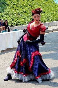 puesta en escena Un banquete para el difunto Don Quijote con la compañia La Bomba Teatro MA