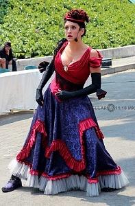 puesta en escena Un banquete para el difunto Don Quijote con la compañia La Bomba Teatro RR