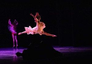 Breve antología del deseo, entre el amor y desamor compañia de danza capital presentaciòn Teatro Esperanza Iris 11