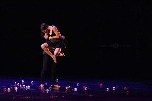 Breve antología del deseo, entre el amor y desamor compañia de danza capital presentaciòn Teatro Esperanza Iris 12