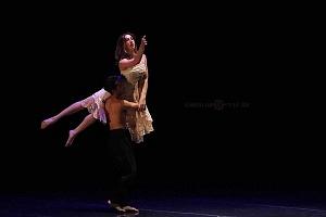 Breve antología del deseo, entre el amor y desamor compañia de danza capital presentaciòn Teatro Esperanza Iris 4
