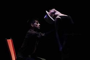 Breve antología del deseo, entre el amor y desamor compañia de danza capital presentaciòn Teatro Esperanza Iris 9