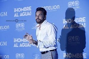 Eugenio Derbez estrena en México Hombre al agua 2