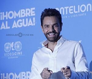 Eugenio Derbez estrena en México Hombre al agua 3