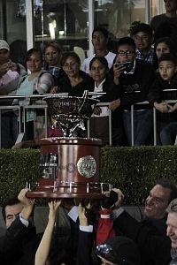 Handicap de Las Américas 2018 trofeo