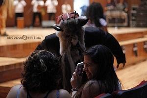 Publico en el XV Festival del Tambor y las Culturas Africanas en México