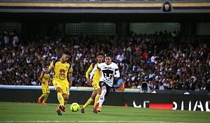Pumas cae 4-1 ante el America en cuartos de final del torneo de clausura 2018 descolgada por la derecha