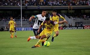 Pumas cae 4-1 ante el America en cuartos de final del torneo de clausura 2018 en CU 1