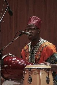 XV Festival del Tambor y las Culturas Africanas en Mèxico Grupo Cubano Invitado musico con tambores