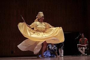 XV Festival del Tambor y las Culturas Africanas en Mèxico Grupo Cubano danza orisha 3