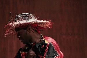 XV Festival del Tambor y las Culturas Africanas en Mèxico Grupo Cubano danza orisha