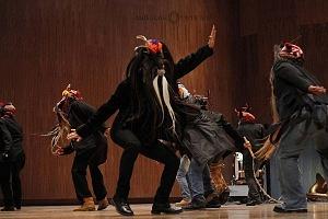 XV Festival del Tambor y las Culturas Africanas en Mèxico baile de los diablos danza del estado de Veracruz 1