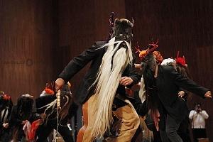 XV Festival del Tambor y las Culturas Africanas en Mèxico baile de los diablos danza del estado de Veracruz