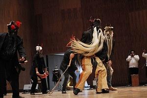 XV Festival del Tambor y las Culturas Africanas en Mèxico baile de los diablos de Veracruz