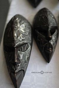 XV Festival del Tambor y las Culturas Africanas en Mèxico venta de artesanias Africanas Mascaras tradicionales