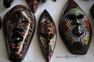 XV Festival del Tambor y las Culturas Africanas en Mèxico venta de artesanias Africanas en el marco del festival